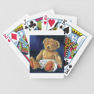 Little Acorn, a Favourite Teddy Bicycle Playing Cards