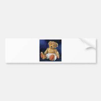 Little Acorn, a Favourite Teddy Bumper Sticker