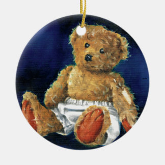 Little Acorn, a Favourite Teddy Ceramic Ornament