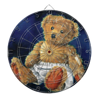 Little Acorn, a Favourite Teddy Dartboard With Darts