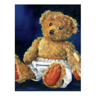 Little Acorn, a Favourite Teddy Postcard