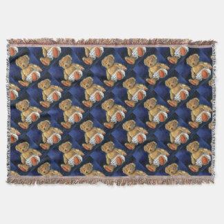 Little Acorn, a Favourite Teddy Throw Blanket