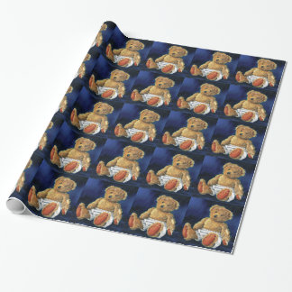 Little Acorn, a Favourite Teddy Wrapping Paper