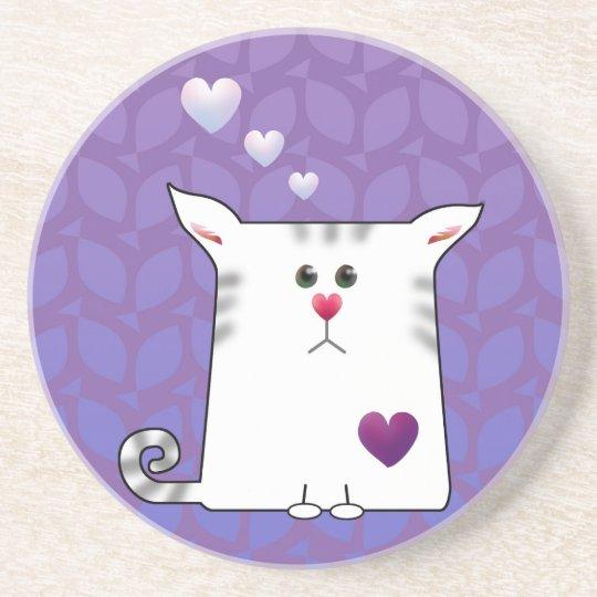 Little Alfie purple Coaster
