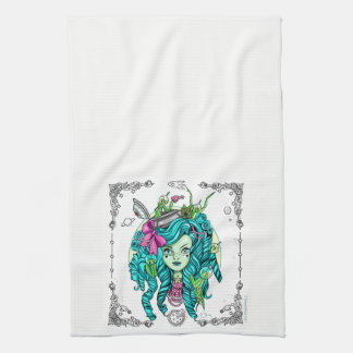 Little Alien Kitchen Towel