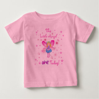 Little Angel 1st Birthday Baby T-Shirt
