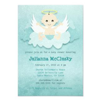 Little Angel - Boy or Neutral - Caucasian Card