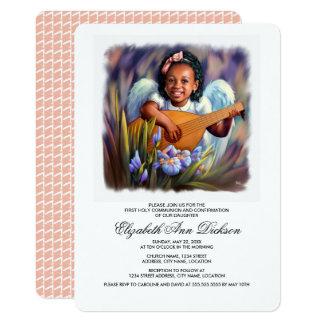 Little Angel Holy Communion Invitations