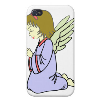Little Angel Praying iphone Case iPhone 4/4S Case