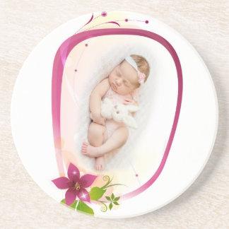 Little Angel Sleeping 041 Beverage Coasters