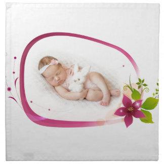 Little Angel Sleeping 041 Napkin
