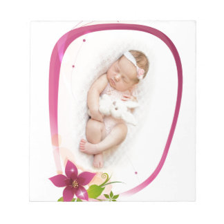 Little Angel Sleeping 041 Notepad