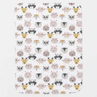 Little Animals Baby Blanket