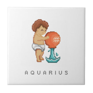 Little Aquarius Ceramic Tile