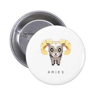 Little Aries Button