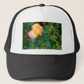Little autumn rose with blur trucker hat