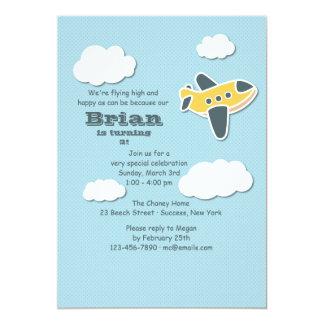 "Little Aviator Invitation 5"" X 7"" Invitation Card"
