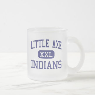 Little Axe Indians Middle Norman Oklahoma Frosted Glass Coffee Mug