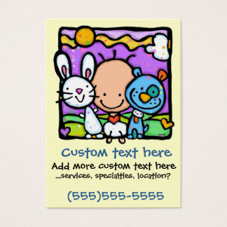 Little Baby and his/her Little Pets-Childcare card
