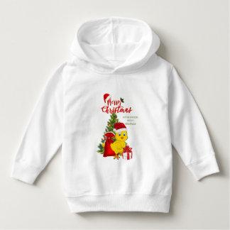 Little Baby Chicken Christmas Hoodie