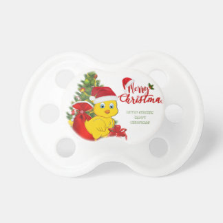 Little Baby Chicken Christmas Pacifier