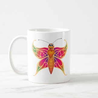 'Little Baby Love Seal' Butterfly Mug