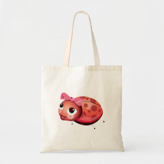 'Little Baby Love Seal' Ladybug Character totebag Tote Bag