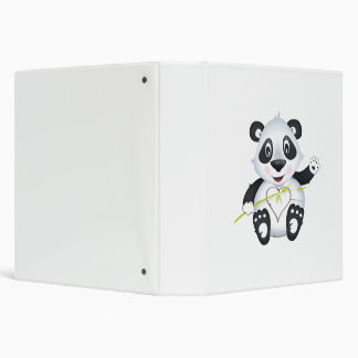 'Little Baby Love Seal' Panda Character Binder