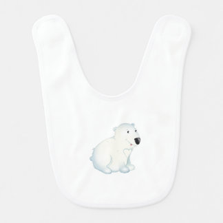 'Little Baby Love Seal' Polar Bear Bib