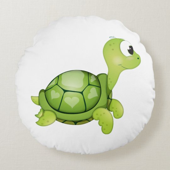 'Little Baby Love Seal' Turtle Cushion