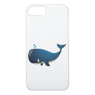 'Little Baby Love Seal' Whale iphone case