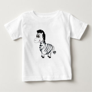 'Little Baby Love Seal' Zebra Character T-Shirt