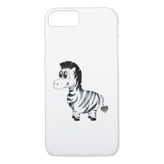 'Little Baby Love Seal' Zebra Iphone case
