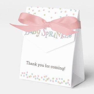 Little Baby Sprinkle Confetti Shower Favor Bag Favor Box