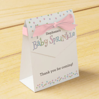 Little Baby Sprinkle Confetti Shower Favor Bag Party Favor Box