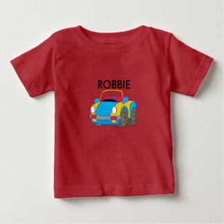 Little baby's Car t-shirt made for Robbie