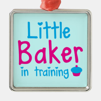 Little BAKER in training Metal Ornament