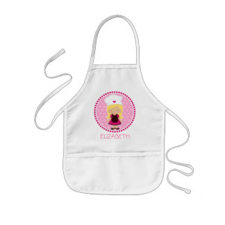 Little Baker Personalized Aprons - Party favours
