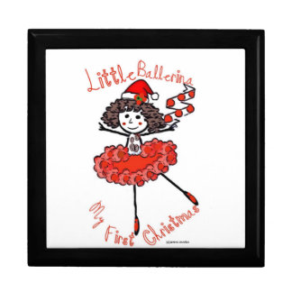 Little Ballerina-1st Christmas-Treasure Keeper Gift Box