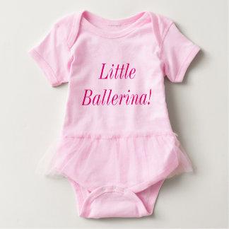 Little Ballerina Baby Tutu Bodysuit