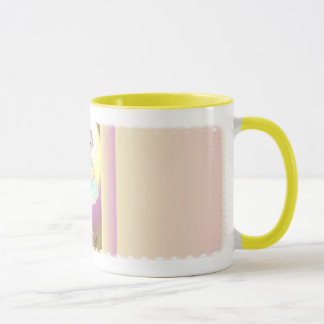 Little Ballerina in Green Tutu Mug