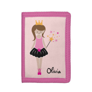 Little Ballerina Princess Trifold Wallet