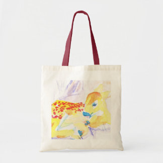Little bambi budget tote bag
