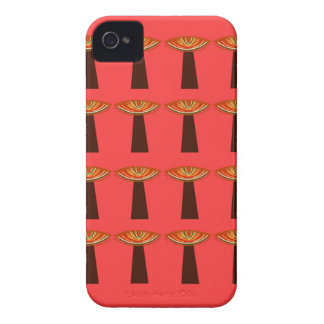 Little baobabs hand painted design iPhone 4 covers