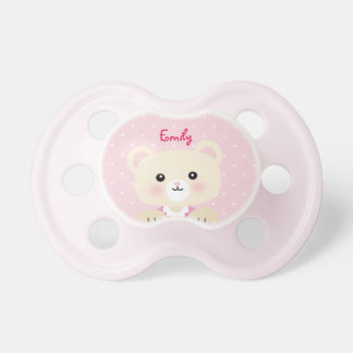 Little Bear Baby Girl's Pacifier