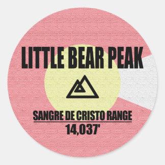 Little Bear Peak Classic Round Sticker