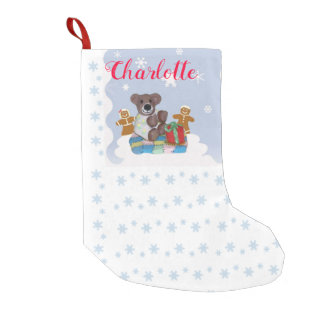 Little Bear Personalized Christmas Stocking