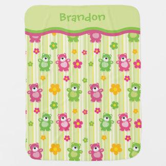 Little Bears Baby Blanket