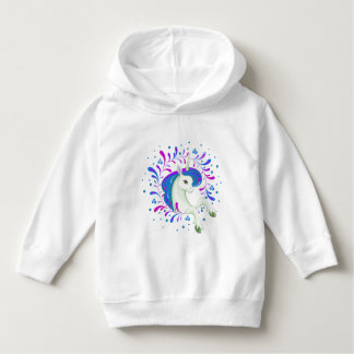 Little beautiful unicorn unicorn hoodie