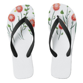 Little Bee Garden Flip Flops